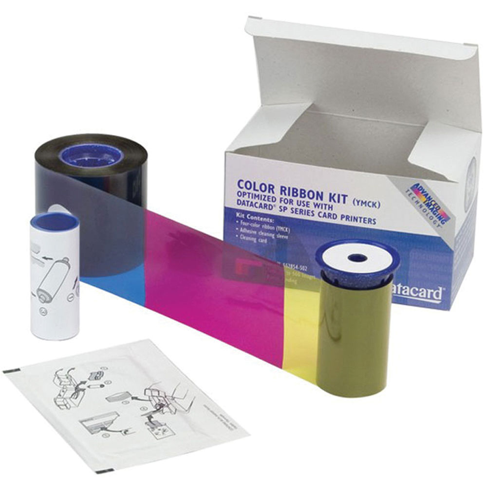 Accessories Datacard Colour Ribbons Kit (for use with Datacard SP/SD Seriies Card Printers) 534000-002