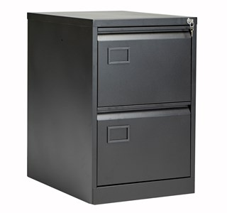 Bisley 2 Drawer Contract Steel Filing Cabinet