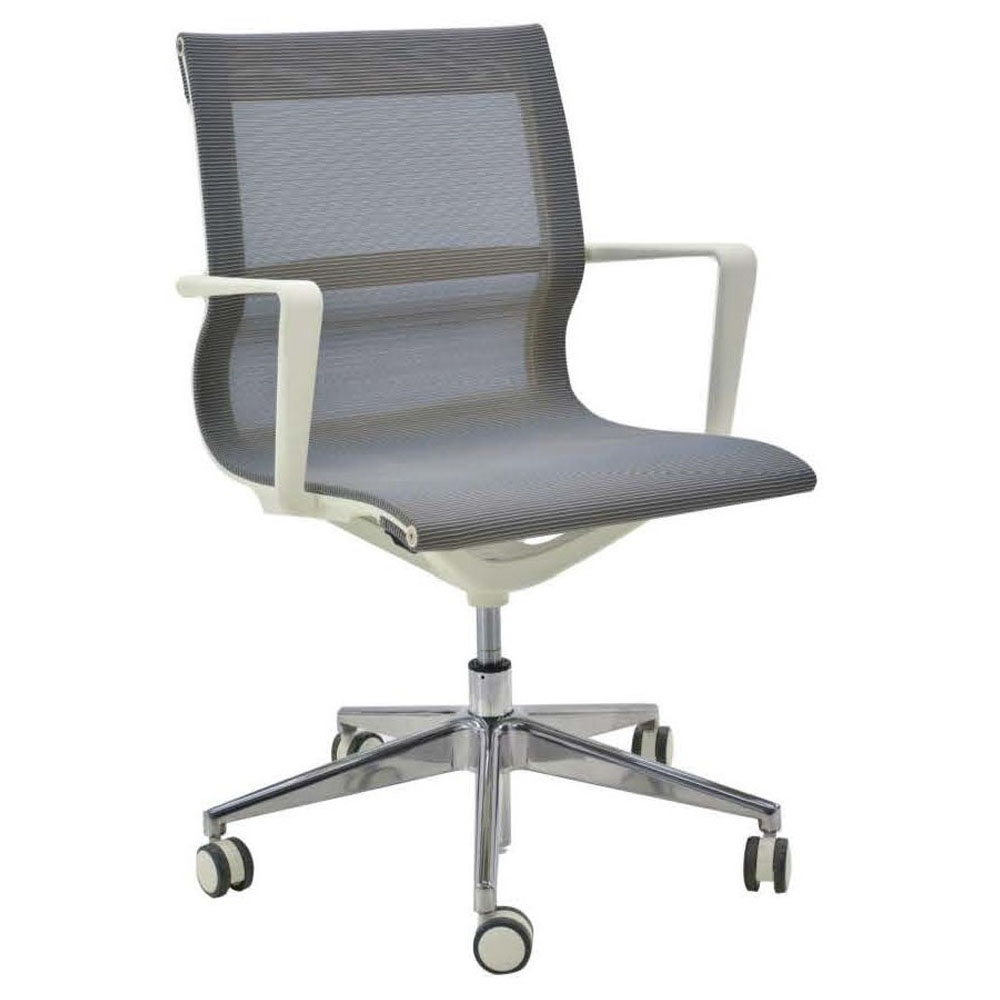 Chairs Verco Flux Mesh Meeting Chair With Arms